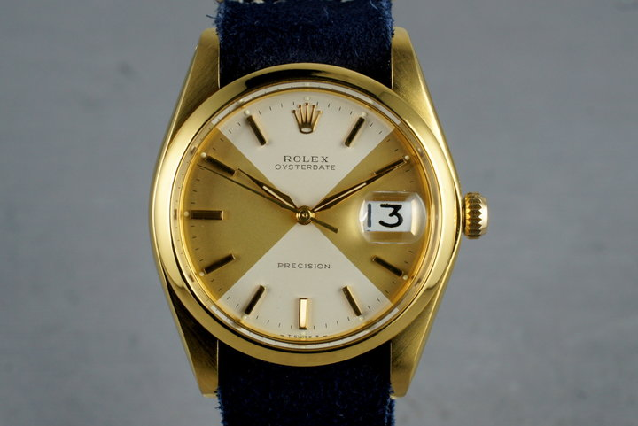 1980 Rolex Gold Plated OysterDate 6694 photo