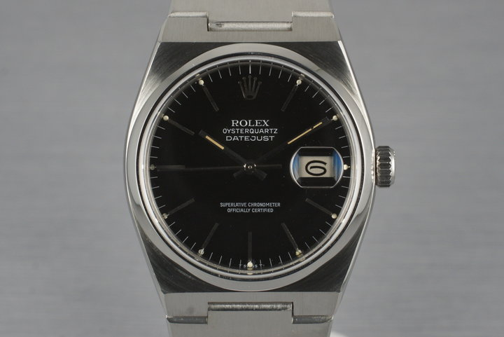 1980 Rolex OysterQuartz Datejust 17000 photo