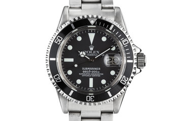 1979 Rolex Submariner 1680 with Luminova Service Dial and Hands photo