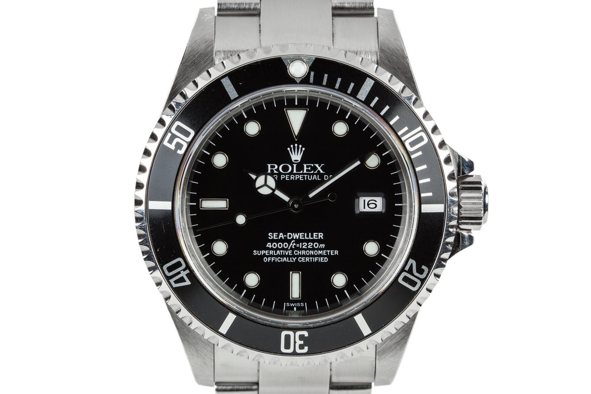 1999 Rolex Sea-Dweller 16600 SWISS Only Dial photo, #0