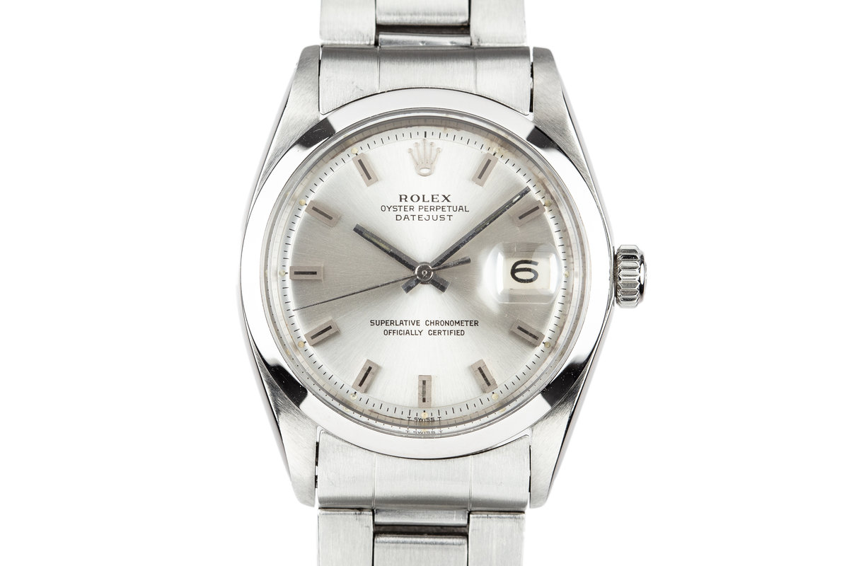 1967 Rolex DateJust 1600 Silver dial photo, #0