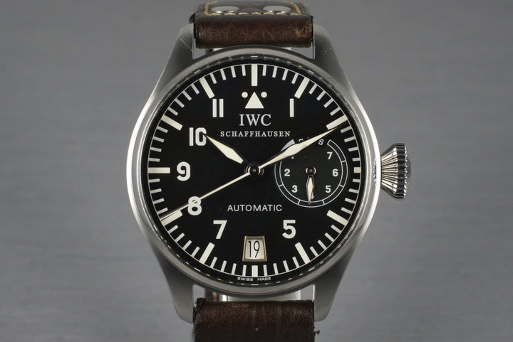 IWC Big Pilot IW5002 With Box and Papers photo