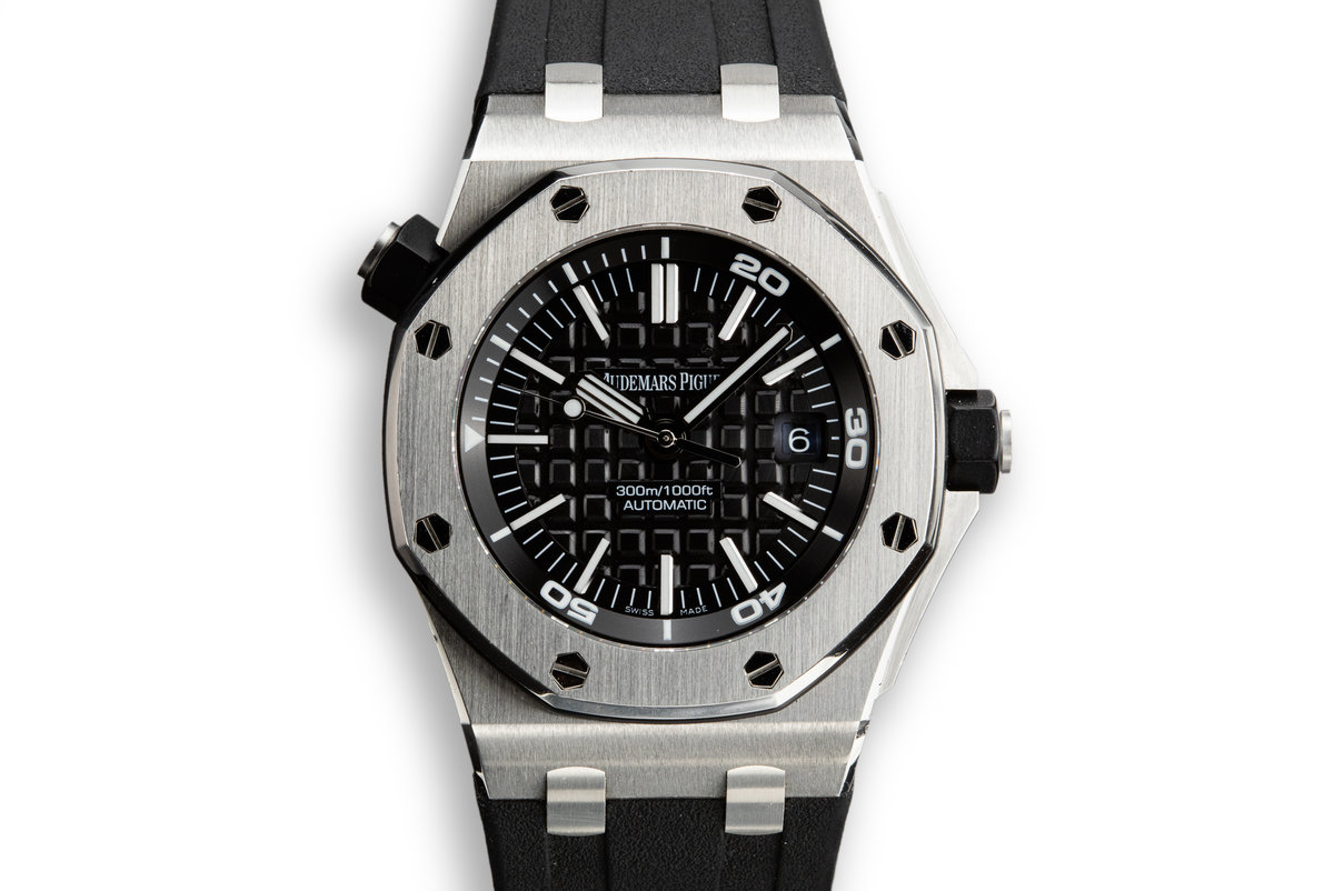 2011 Audemars Piguet Royal Oak Offshore Diver 15703ST.00.A002CA.01 with Box and Papers photo, #0