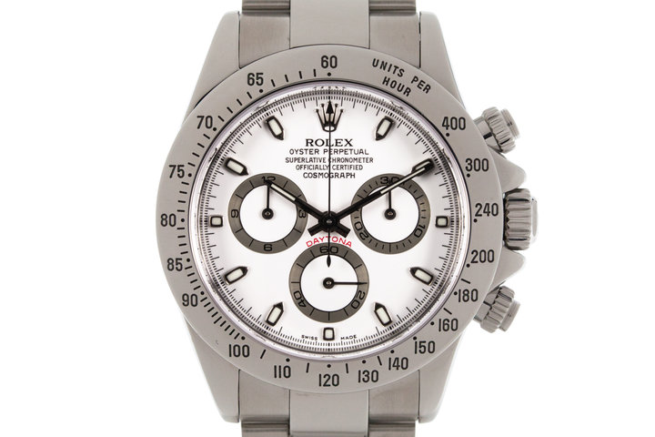 2003 Rolex Daytona 116520 White Dial photo