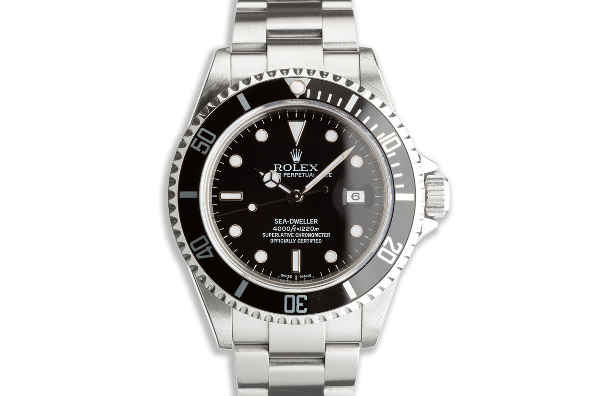 2007 Rolex Sea-Dweller 16600T with Box & Papers photo, #0