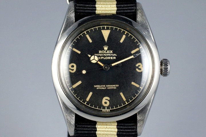 1960 Rolex Explorer 1016 Glossy Gilt Dial with Papers photo