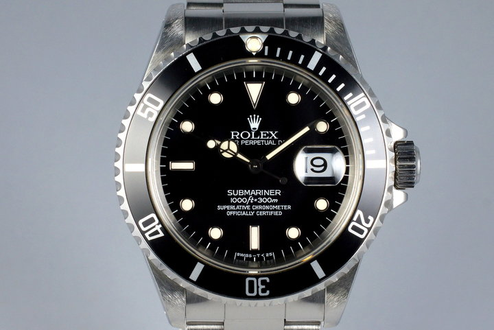 1995 Rolex Submariner 16610 photo