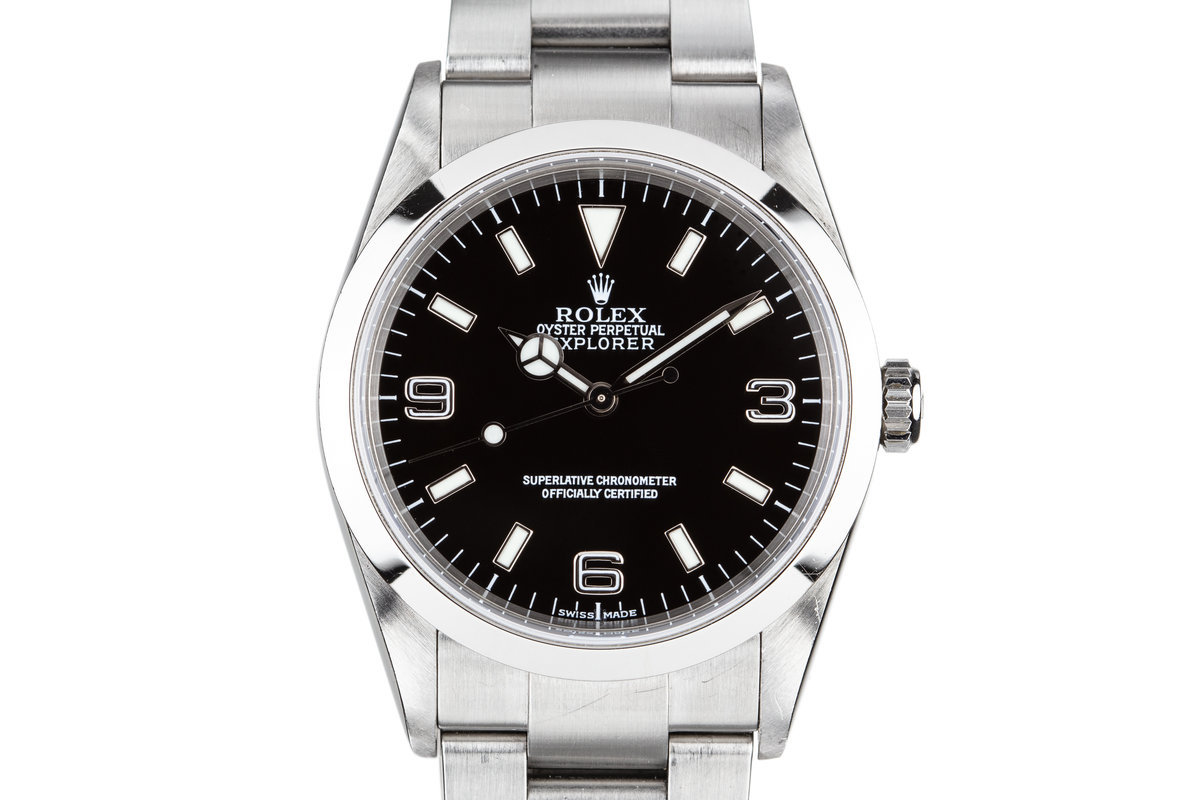 2001 Rolex Explorer 114270 with Service Papers photo, #0