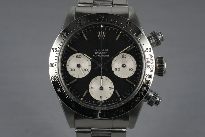 1970 Rolex Daytona 6265 Black Dial photo