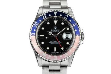 """1995 Rolex GMT-Master 16700 """"Pepsi"""" photo"""