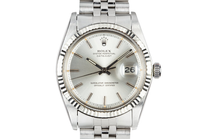 1973 Rolex DateJust 1601 Silver Sigma Dial photo