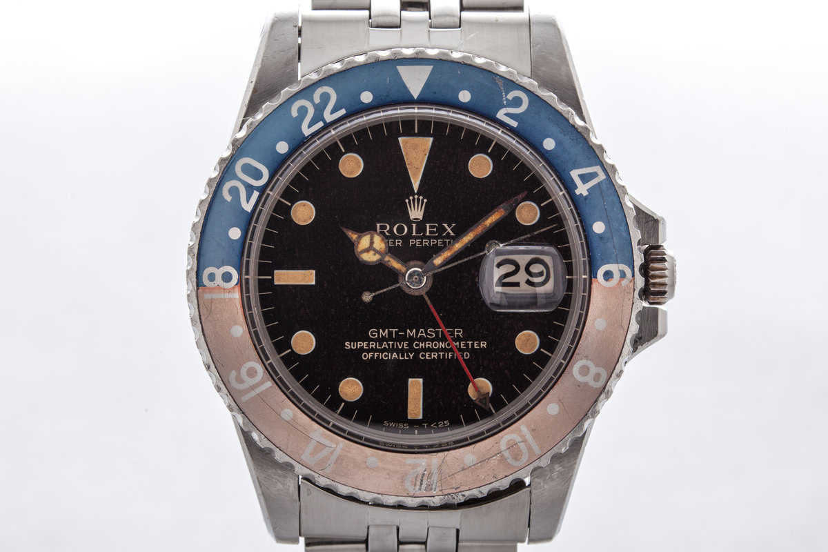 1965 Rolex GMT 1675 with Gilt Dial  photo, #0