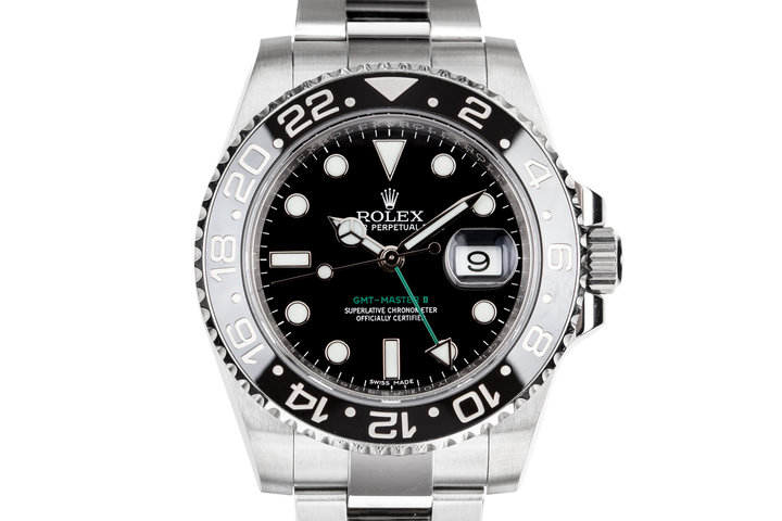 2017 Rolex GMT-Master II 116710LN Black Bezel with Box and Papers photo