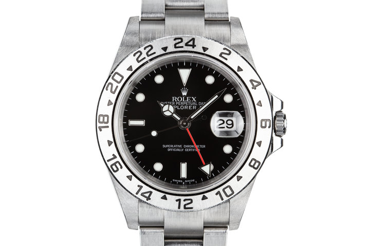 2006 Rolex Explorer II 16570 Black Dial photo