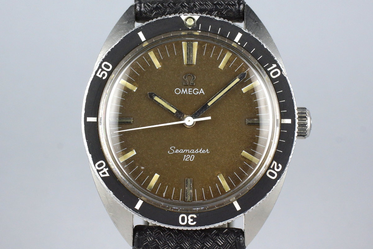 Late 1960's Omega Seamaster 120 135.027 Tropical Dial photo, #0