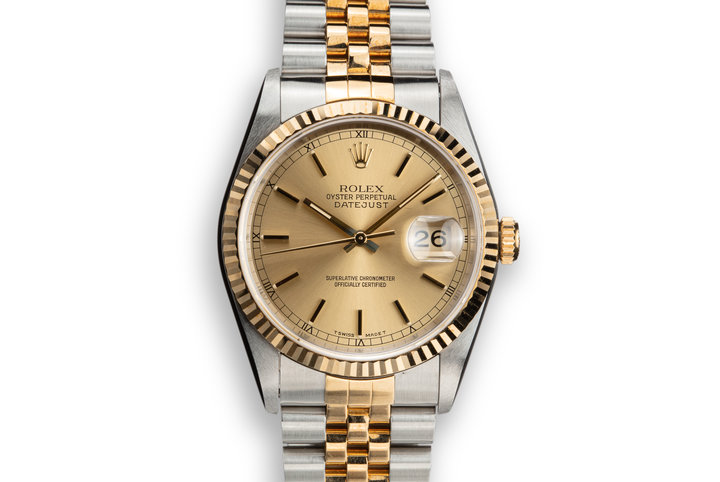 1995 Rolex Two-Tone DateJust 16233 photo