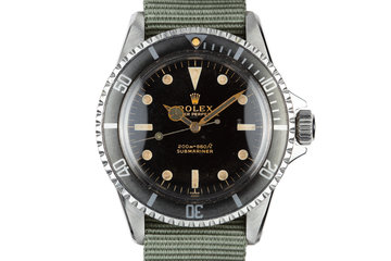 1963 Rolex Submariner 5513 with Gilt Underline Dial photo