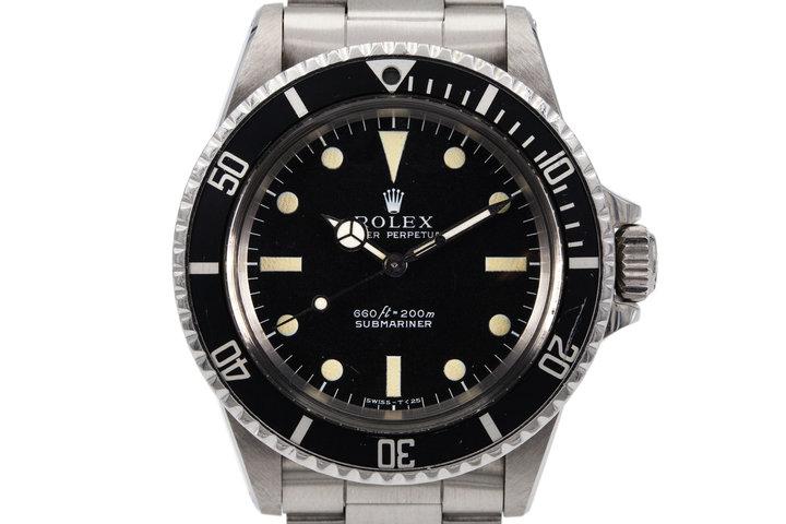 1968 Rolex Submariner 5513  photo