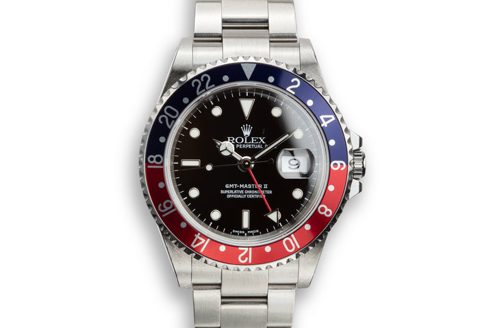 "2002 Rolex GMT-Master II 16710 ""Pepsi"" photo"