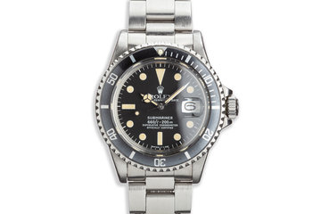 1975 Vintage Rolex Submariner 1680 photo