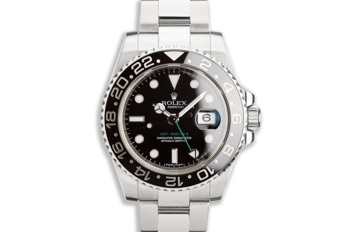2010 GMT-Master II 116710LN Black Bezel photo
