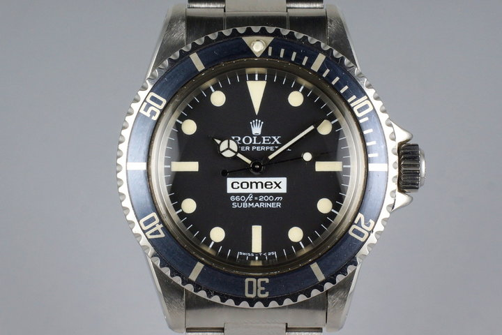 1977 Rolex Submariner 5514 COMEX with Henry Hudson Letter photo