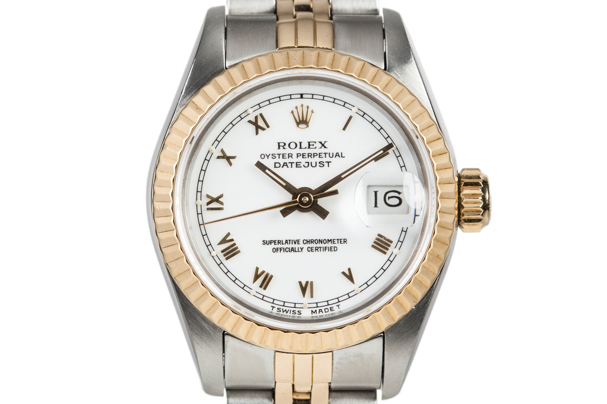 1986 Rolex Two Tone Ladies DateJust 69173 photo, #0