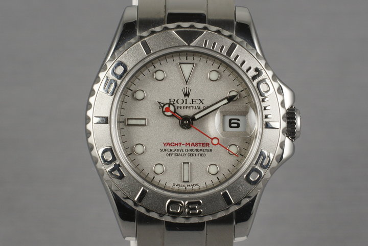 2003 Rolex Ladies Yacht-Master 16623 with Papers photo