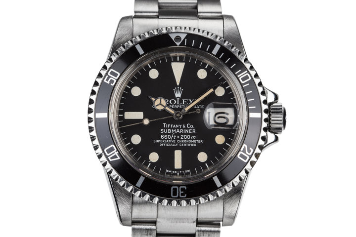 1977 Rolex Submariner 1680 with Tiffany Dial photo