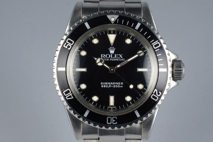 1966 Rolex Submariner 5513 Service Dial photo