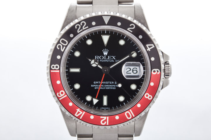 1998 Rolex GMT II 16710 with Coke Insert  photo