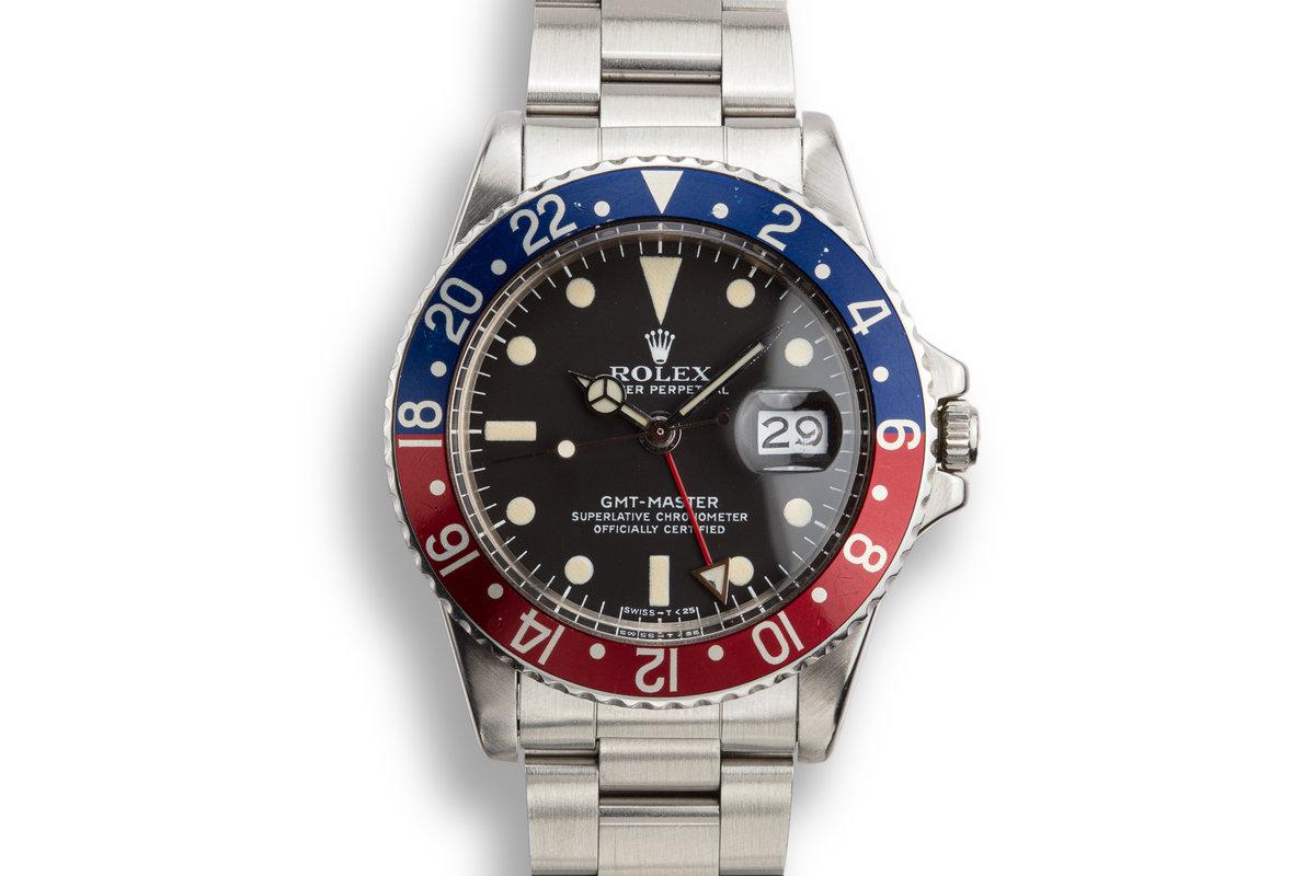 1978 Rolex GMT-Master 1675 photo, #0