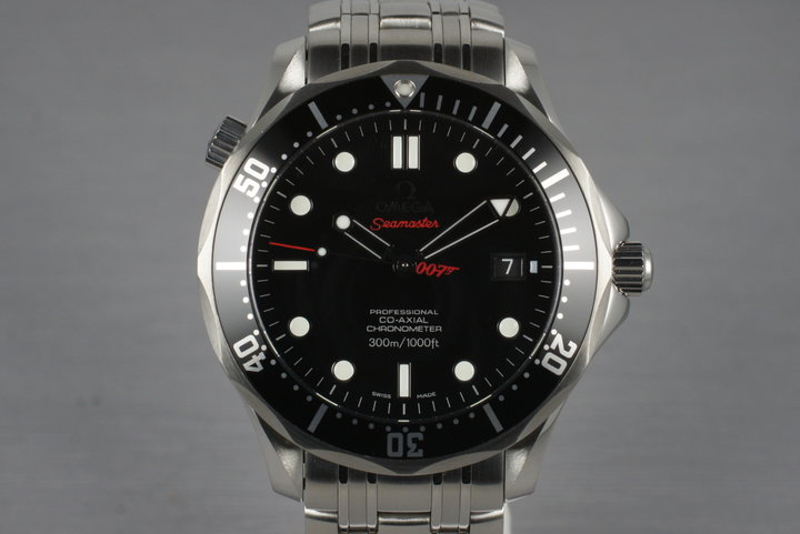 2011 Omega Seamaster Limited Edition James Bond 212.30.41.20.01.001 with Box and Papers photo