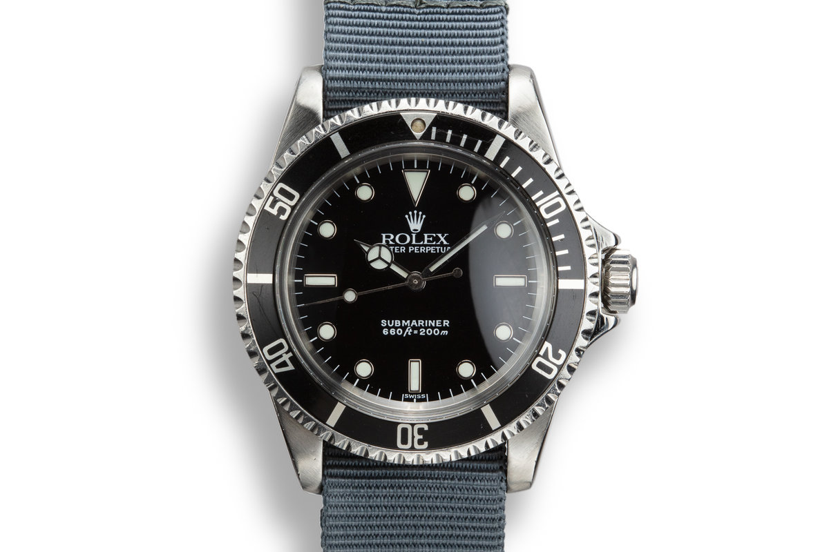 1966 Rolex Submariner 5513 with Rolex Service Dial photo, #0