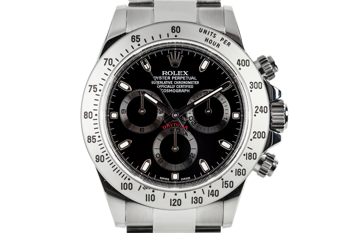 2014 Rolex Daytona 116520 with Box and Papers photo, #0