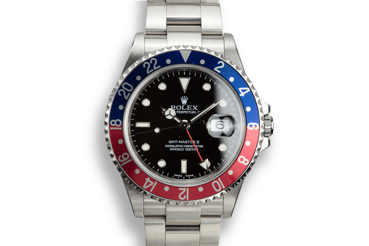 "2005 Rolex GMT-Master II 16710 ""Pepsi"" with Box and Papers photo, #0"