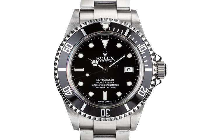 2006 Rolex Sea-Dweller 16600 with Box and Papers photo