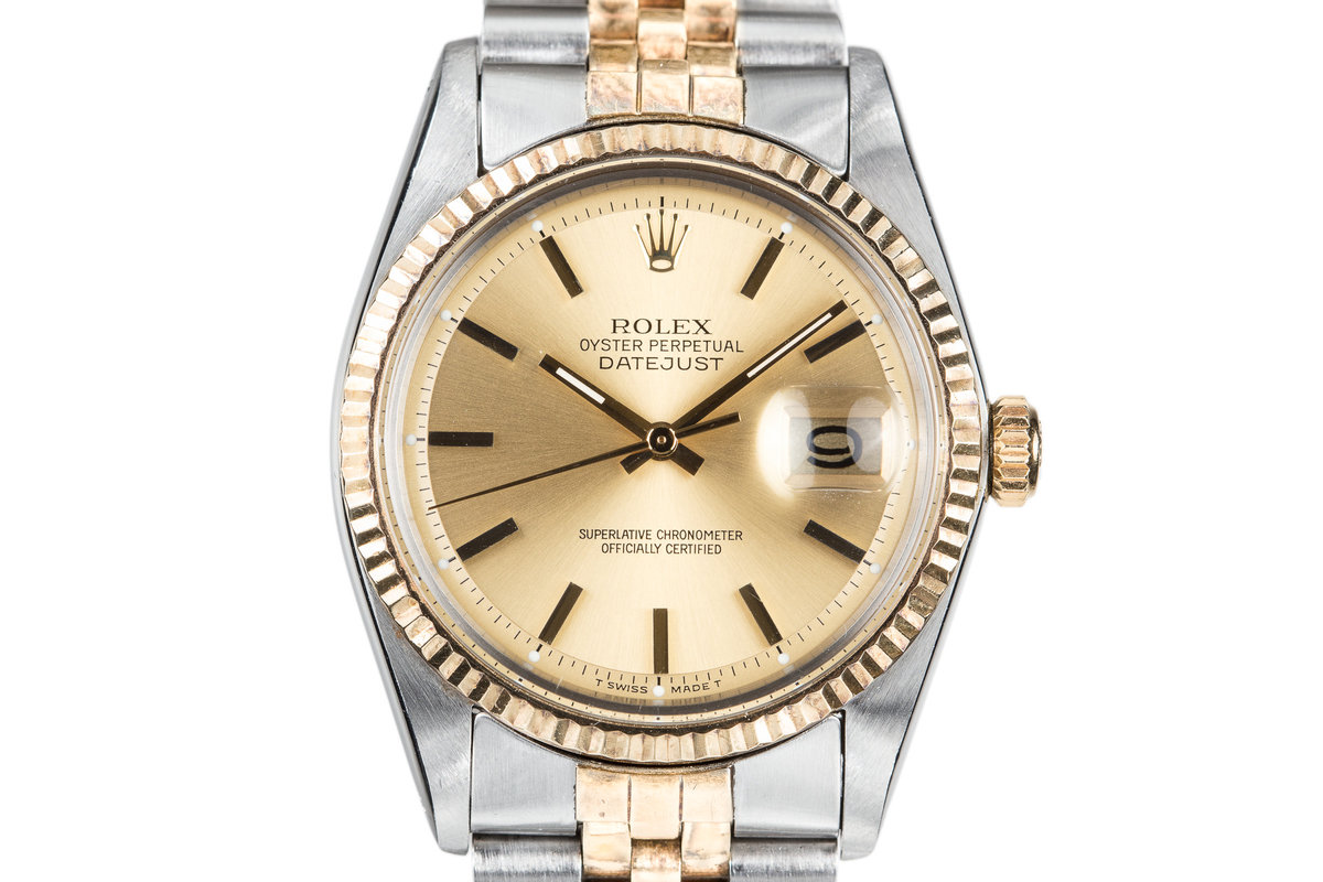 1973 Rolex Two Tone DateJust 1601 photo, #0