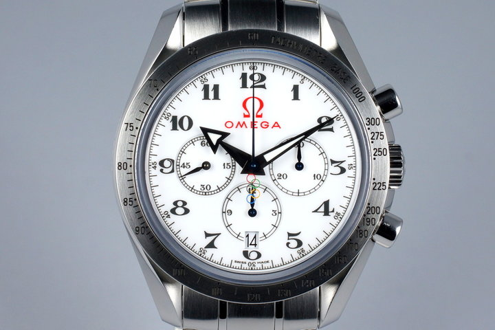2013 Omega Speedmaster 321.10.42.50.04.001 Olympic Broad Arrow with Papers photo