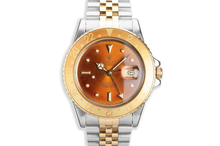 1979 Vintage Rolex GMT-Master 16753 with Metallic Brown Nipple Dial photo