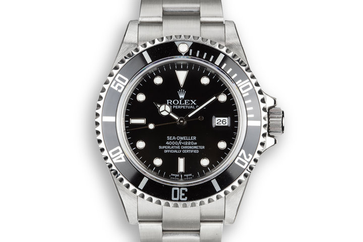 2009 Rolex Sea-Dweller 16600 with Box and Papers with Factory Stickers MINT photo