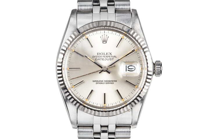1984 Rolex DateJust 16014 Silver Dial photo