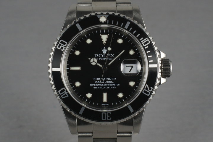 Rolex Submariner 16610 with Box and Papers photo