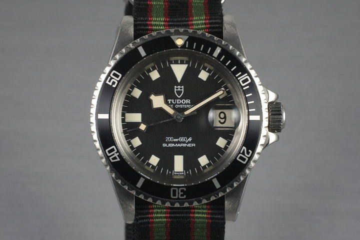 1977 Tudor Submariner 94110 Snowflake photo