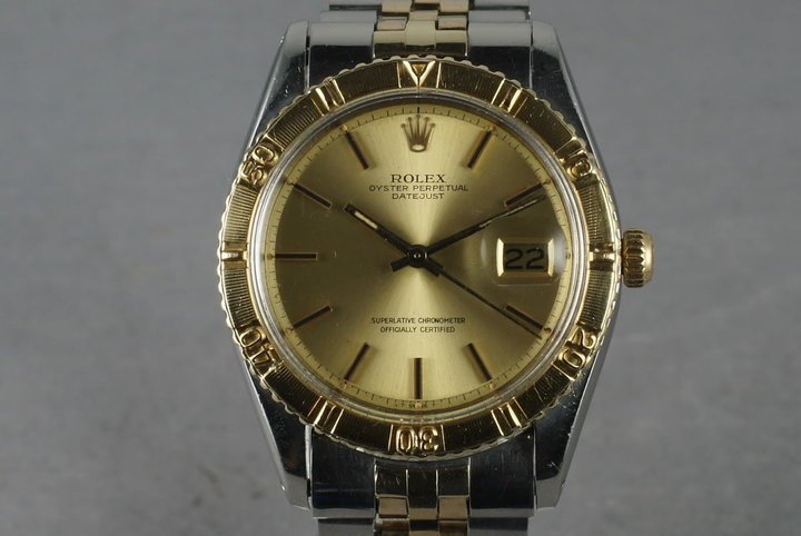 1978 Rolex Two Tone DateJust 1625 Thunderbird photo