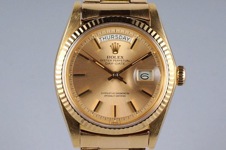 1972 Rolex Rose Gold Day-Date 1803 photo