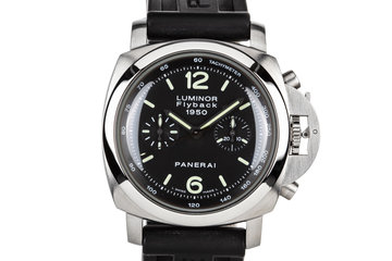 Panerai Luminor Flyback 1950 with Box and Chrono Papers photo