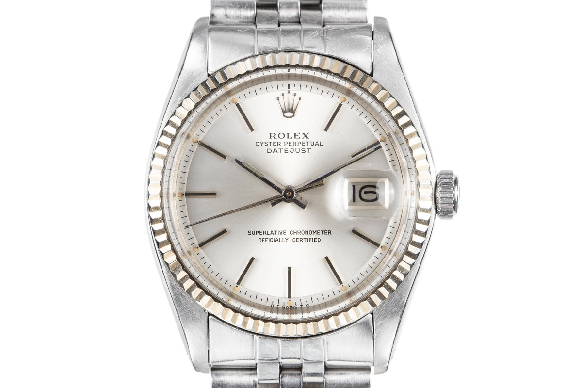 1978 Rolex DateJust 1601 with Silver Sigma Dial photo, #0