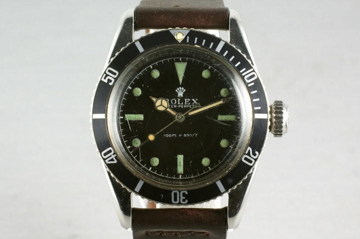 Rolex Submariner Ref: 6538 Big Crown photo