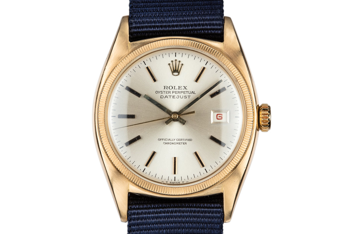 1952 Rolex 18K YG DateJust 6105 photo, #0